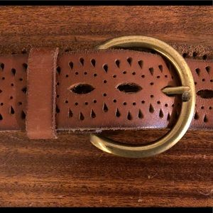 Lucky Brand Leather Belt Women's Size M